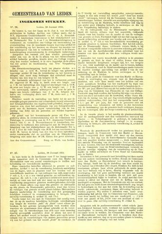 Handelingen van de Raad 1932-01-20