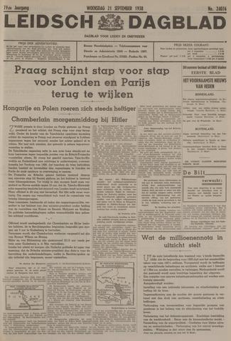 Leidsch Dagblad 1938-09-21