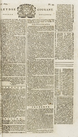 Leydse Courant 1822-04-12