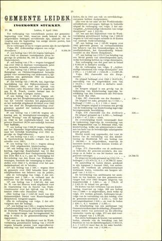 Handelingen van de Raad 1944-04-06