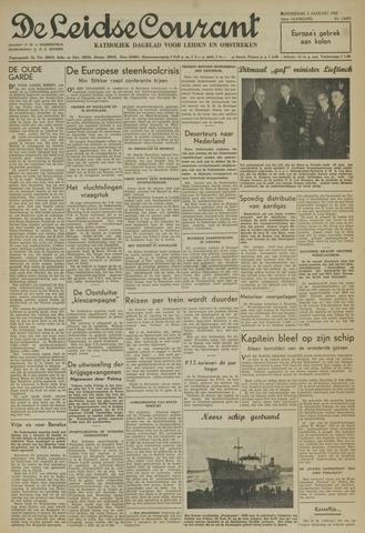 Leidse Courant 1952-01-03