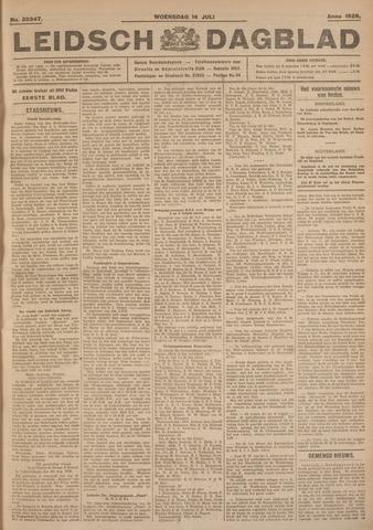 Leidsch Dagblad 1926-07-14