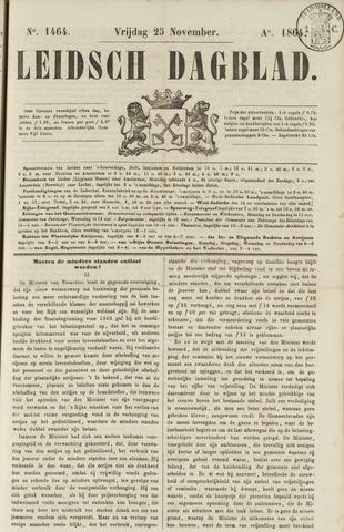 Leidsch Dagblad 1864-11-25