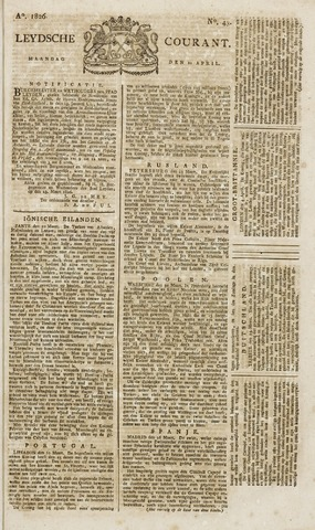 Leydse Courant 1826-04-10