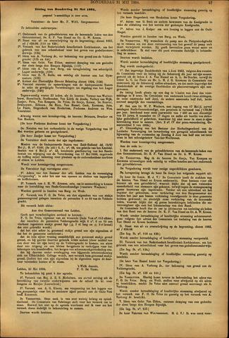 Handelingen van de Raad 1894-05-31