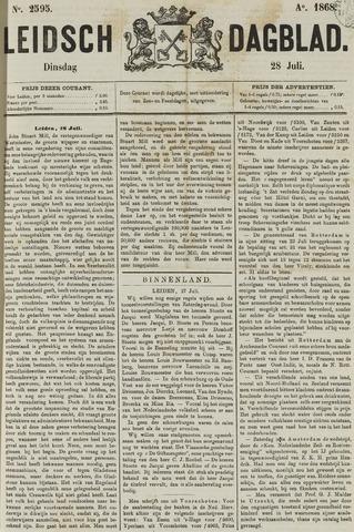 Leidsch Dagblad 1868-07-28