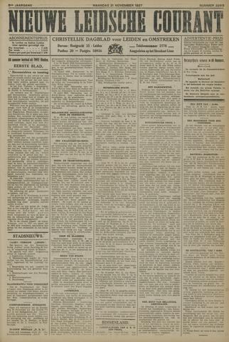 Nieuwe Leidsche Courant 1927-11-21