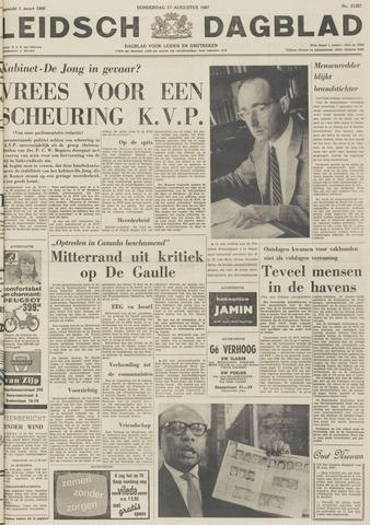 Leidsch Dagblad 1967-08-17