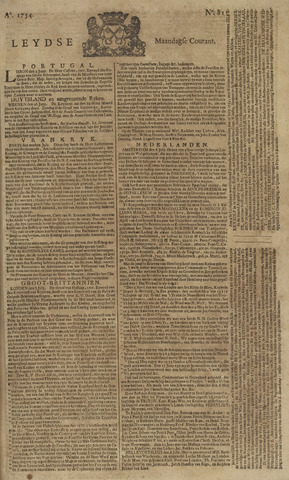 Leydse Courant 1754-07-08