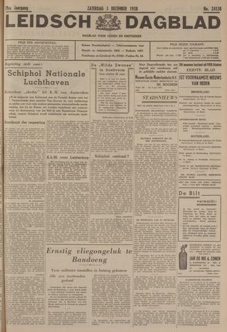 Leidsch Dagblad 1938-12-03