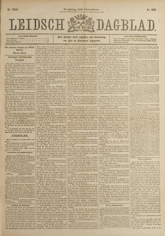 Leidsch Dagblad 1899-10-20
