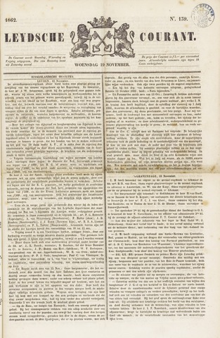 Leydse Courant 1862-11-19
