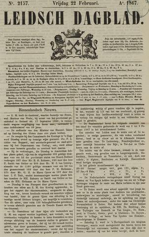 Leidsch Dagblad 1867-02-22
