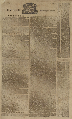 Leydse Courant 1754-02-25