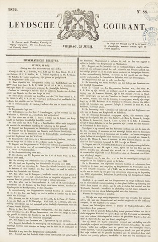 Leydse Courant 1852-07-23