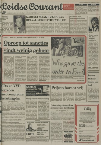 Leidse Courant 1983-09-06