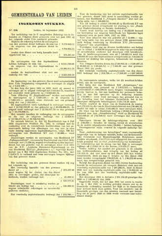 Handelingen van de Raad 1932-09-30