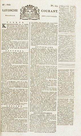 Leydse Courant 1826-09-11