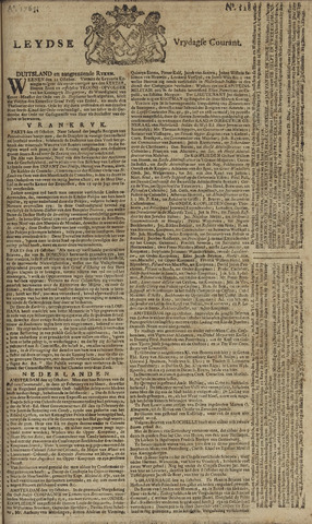 Leydse Courant 1765-10-25