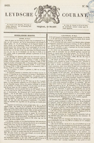 Leydse Courant 1855-03-23
