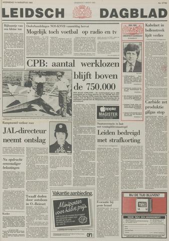 Leidsch Dagblad 1985-08-14