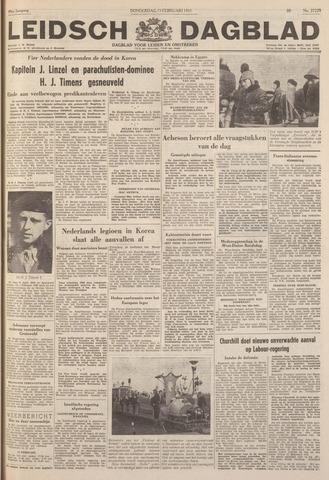 Leidsch Dagblad 1951-02-15