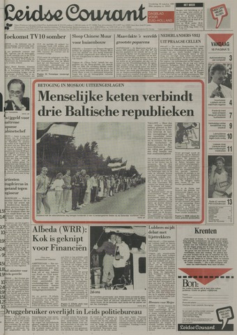 Leidse Courant 1989-08-24