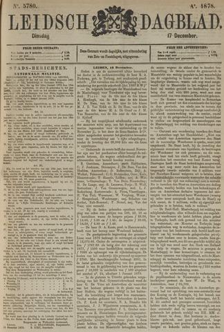 Leidsch Dagblad 1878-12-17