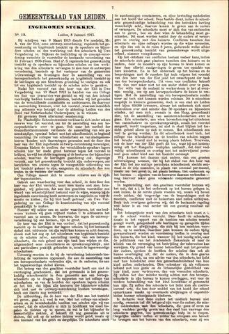 Handelingen van de Raad 1915-01-08