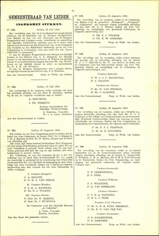 Handelingen van de Raad 1938-07-28