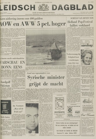 Leidsch Dagblad 1970-11-14