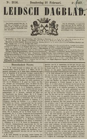 Leidsch Dagblad 1867-02-21
