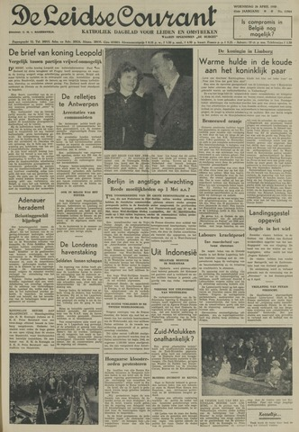 Leidse Courant 1950-04-26
