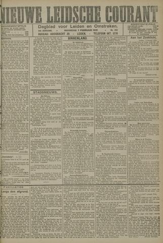 Nieuwe Leidsche Courant 1921-02-07
