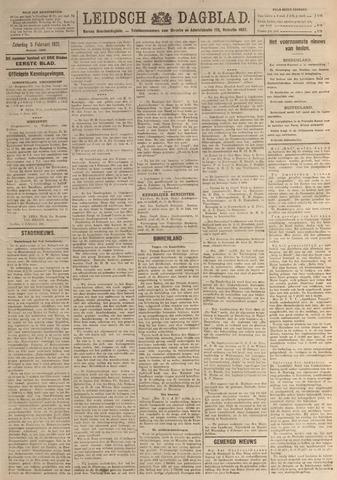 Leidsch Dagblad 1921-02-05