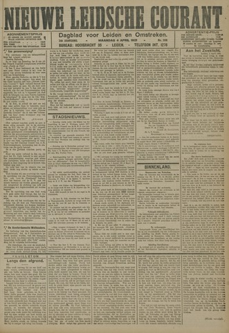 Nieuwe Leidsche Courant 1921-04-04