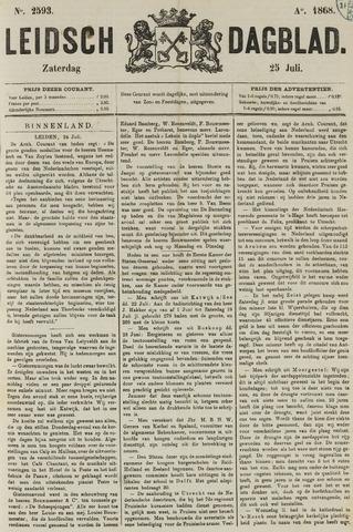 Leidsch Dagblad 1868-07-25