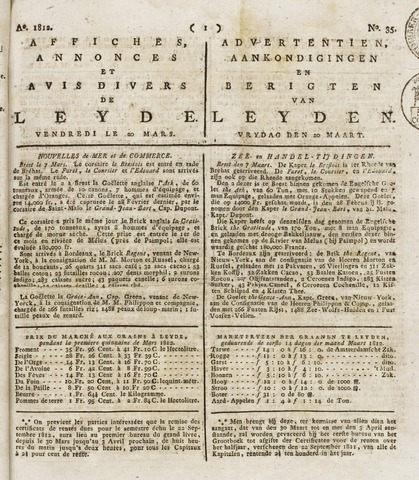 Leydse Courant 1812-03-20