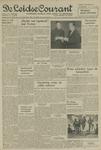 Leidse Courant 1950-09-08
