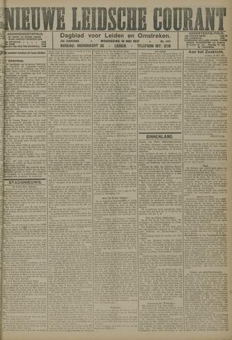 Nieuwe Leidsche Courant 1921-05-18