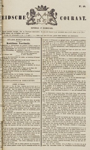 Leydse Courant 1885-02-17