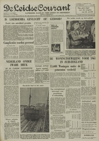 Leidse Courant 1961-02-11