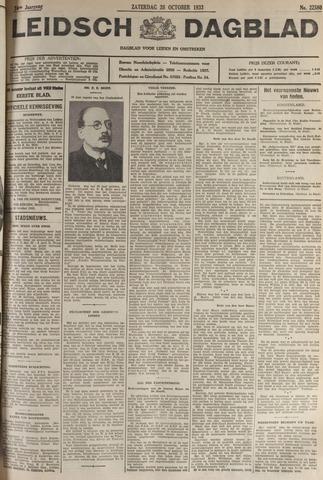 Leidsch Dagblad 1933-10-28