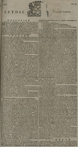 Leydse Courant 1729-07-01