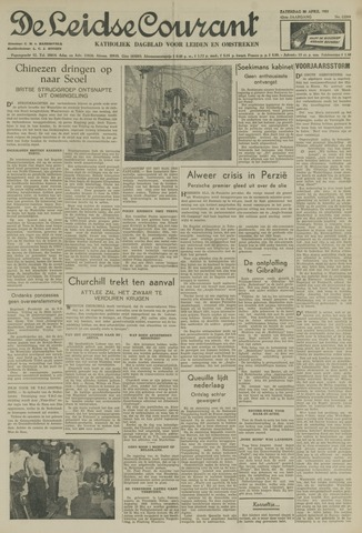 Leidse Courant 1951-04-28
