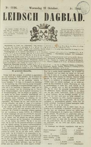 Leidsch Dagblad 1863-10-21