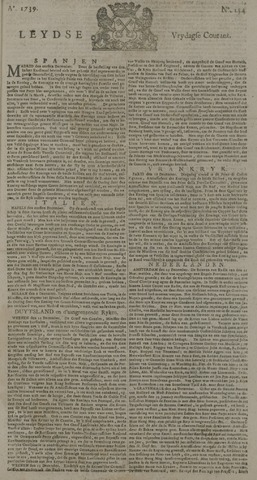 Leydse Courant 1739-12-25