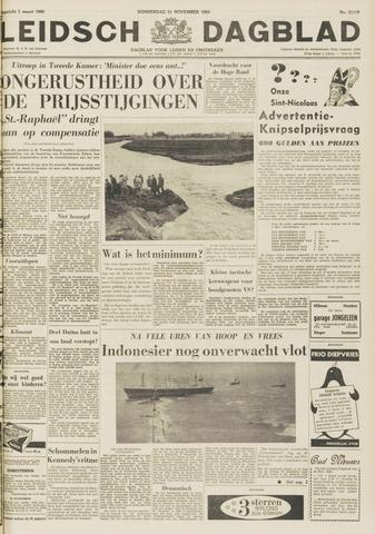 Leidsch Dagblad 1963-11-21