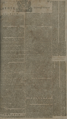 Leydse Courant 1743-03-27