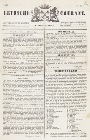 Leydse Courant 1869-03-22
